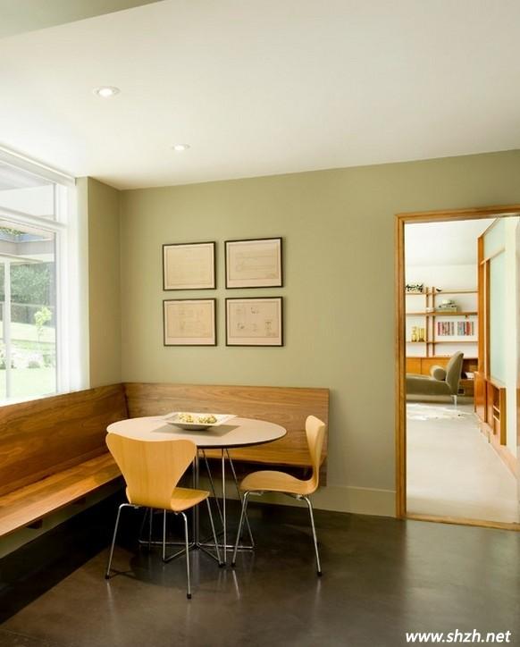 小户型餐厅设计方案 客厅与餐厅的和睦相处