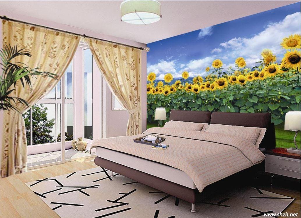 欧式沙发墙漆背景墙效果图大全