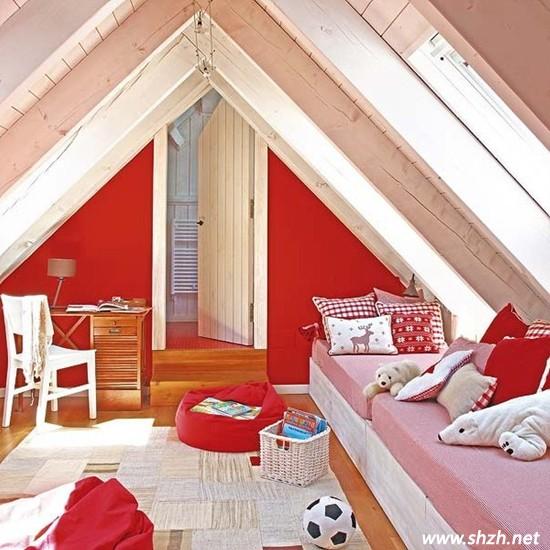 阁楼装修创意无限 儿童房