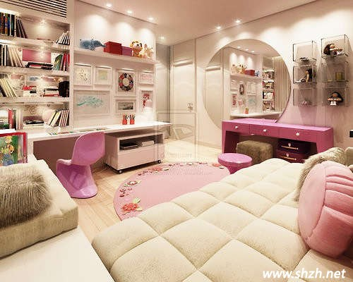 欧式儿童房间效果图
