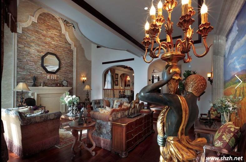 地中海風格的別墅裝修