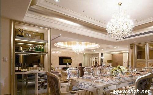 简欧古典餐厅设计
