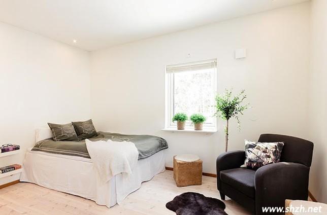 雅致木屋别墅卧室装修