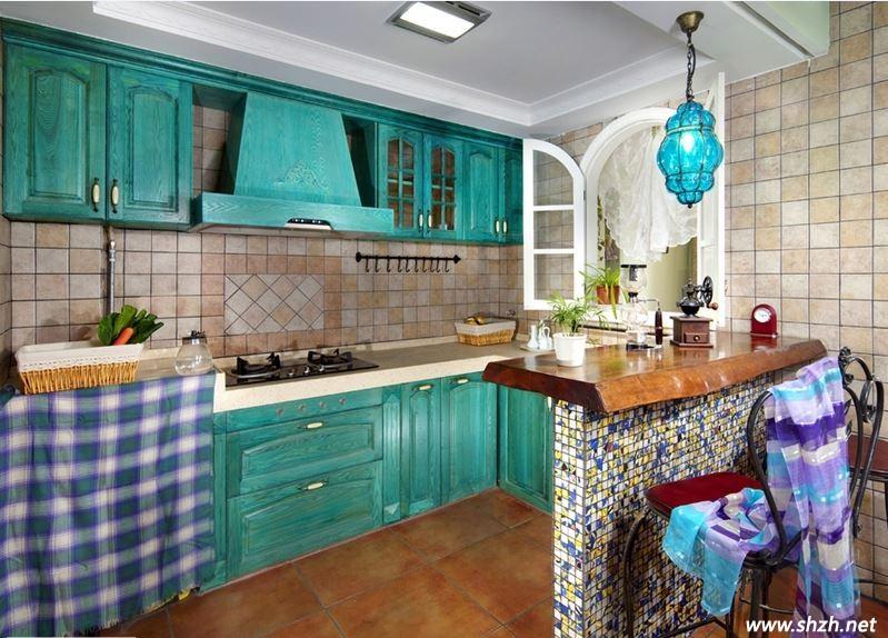 地中海婚房厨房装修