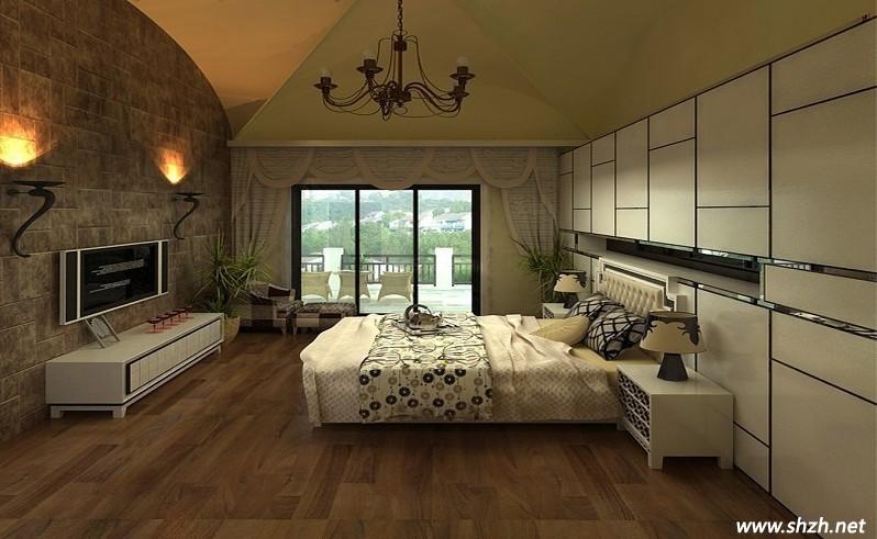 美式风格装修 卧室设计