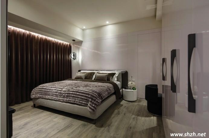 黑白灰现代简约卧室