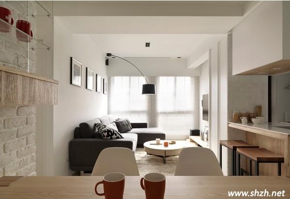 北欧风格 客厅装修图片