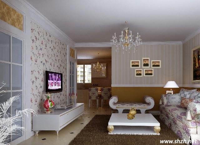 打造温馨浪漫的电视背景墙