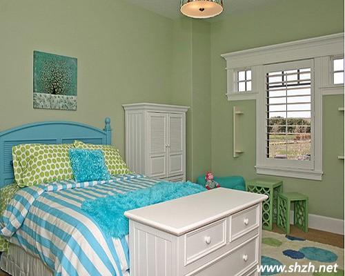 8款绿意盎然的卧室装修